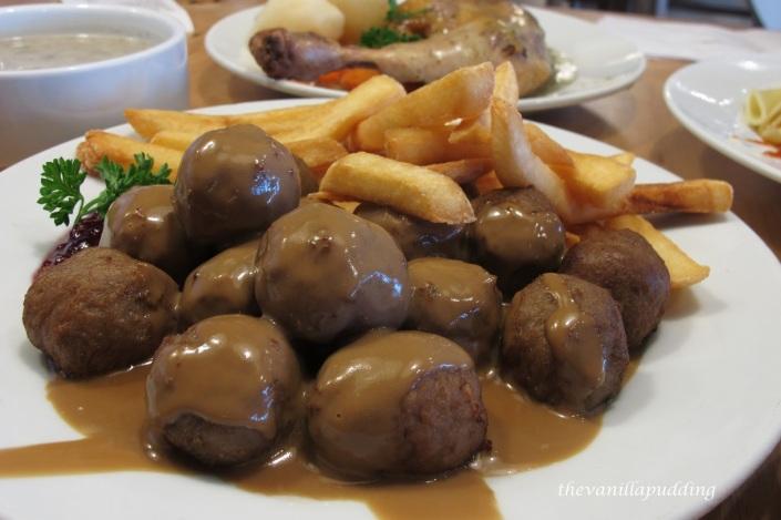 Ikea Damansara Signiture Dish Meat Ball